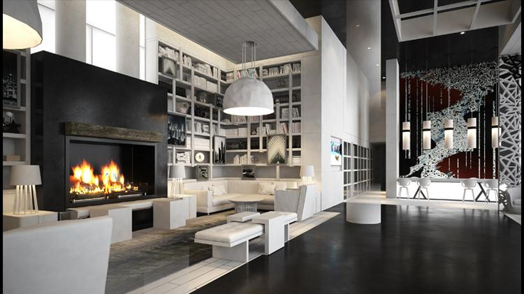 bozzuto unveils name interior design of its locust point apartment