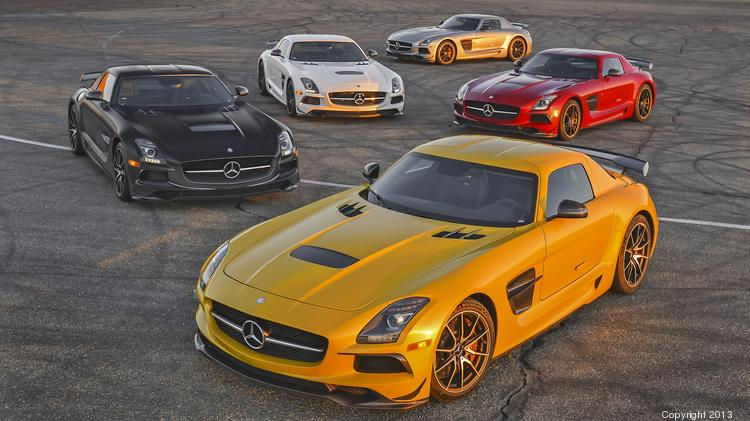 2014 Mercedes Benz SLS AMG Black Series.