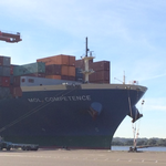 Biggest ship in Jacksonville highlights need for deepening