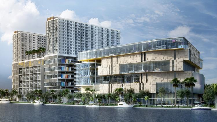 River Landing Will Have 507 Apartments And 421 930 Square Feet Of Retail 2 200 Parking Es View Slideshow