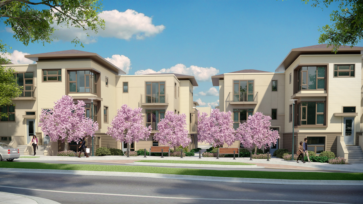 More Bay Meadows Homes To Rise As Shea S Acreage On Former Site Of San Mateo Horse Race Track Silicon Valley Business Journal