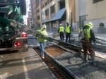 Streetcar construction continues in bitter cold, here's what's coming next: PHOTOS