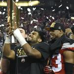 <strong>Burroughs</strong> grad Elliott leads Ohio State to national championship