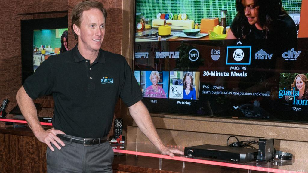 Sling TV CEO talks about viewers' reaction (Video) - Denver Business