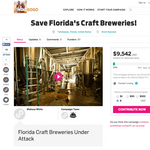 As legal battle looms, Florida craft brewers launch crowdfunding campaign