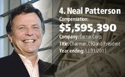 Neal Patterson, Cerner Corp.  Compensation: $5,595,390