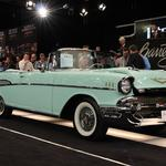 Charity vehicles top auction sales on Friday at Barrett-Jackson