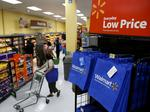 Watch for falling sales growth at Wal-Mart