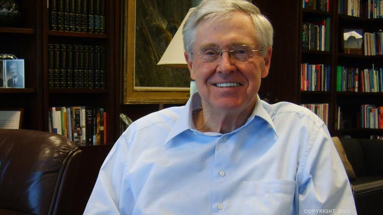 George mason students sue the virginia university over for Charles und david koch
