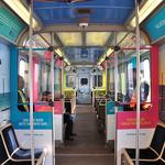 Visit Sarasota County tantalizing Chicagoans with images on trains