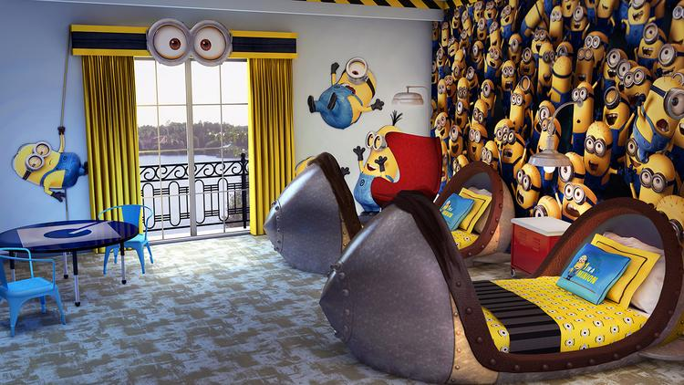 Universal Orlando Resort Already Embraced Its Inner Deable Me With New Themed Rooms At