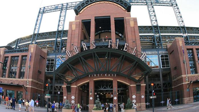 How does Coors Field rank in a list of MLB's 'best ball parks?'