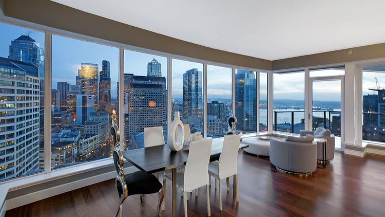 Business Leader Mark Davis S Luxe Condo On The 24th Floor Of Escala Building Offers Spectacular
