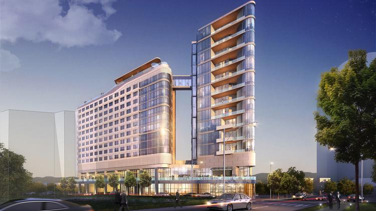 Virgin Hotels Nashville Will Include 15 Residential Units Which Make Up The Top