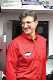 """Checkers CEO Rick Silva posed as a man named Alex Garcia on the CBS television show """"Undercover Boss."""""""