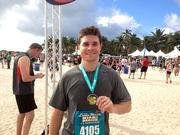 A member of the Ryan LLC team finished a half-marathon in Miami Beach.