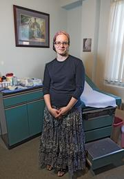 Bayla Berkowitz became a midwife to help patients and families. But now, she says, the practice is riddled with anxiety.