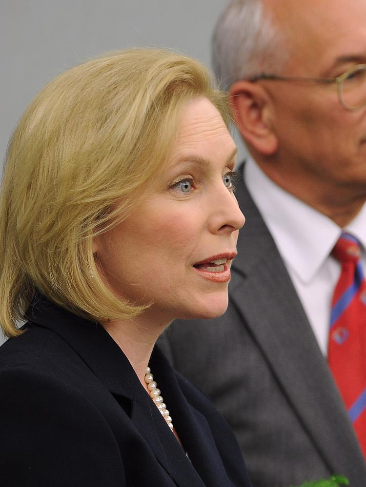 Kirsten Gillibrand Senate >> New York Sen. Kirsten Gillibrand announces legislation to help universities with engineering ...