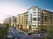 The initial phase of Preston Hollow Village included 75,000 square feet of retail and restaurant space, but the second phase is three luxury apartment buildings.
