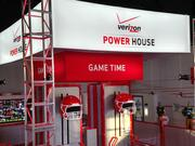 Game Time is the 3-D, 360-degree virtual reality football experience inside the Verizon Power House.