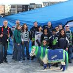 Ponies, helicopters and superstitions: Seattle companies pull out the stops for Blue Friday