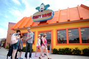 Springfield's Fast Food Boulevard features every delicacy a Simpson's fan could hope for at Universal Orlando Resort.