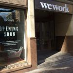 WeWork to take big space at office project near downtown, document shows