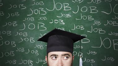Do you expect the college grad in your family will have a full-time, good-paying job by the end of the year?