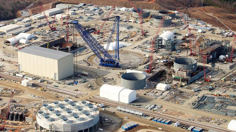 The V.C. Summer Nuclear Station under construction in South Carolina will employ the same AP1000 reactor design Duke Energy proposes for its W.S. Lee Nuclear station.