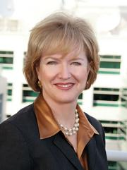 """SELLER: Colleen Brown, Fisher Communications CEO, says Sinclair's """"greater scale"""" will enable the stations to flourish."""