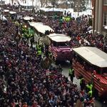 Scenes from the Patriots Super Bowl XLIX celebration parade (BBJ photo gallery)
