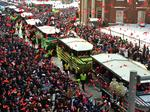 ​Snow expected for Tuesday's Super Bowl celebration parade