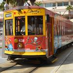 Tampa's early streetcar service to complement new ferry
