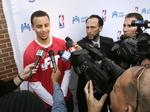 Is Steph Curry involved with Panthers bid group?