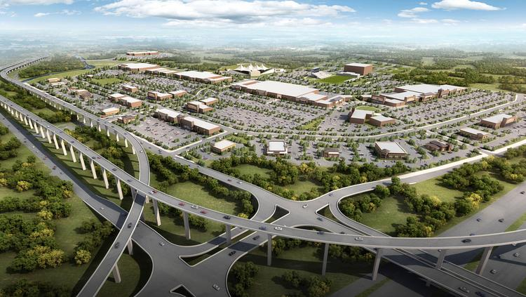 Click through the slideshow to see some major retail developments underway around the Houston area. The Woodlands-based Signorelli Co. broke ground in April 2014 on Valley Ranch Town Center, a 1.5 million-square-foot mixed-use development that sits on 240 acres in the north part of Valley Ranch, a 1,400-acre master-planned community north of Kingwood. The first phase began opening last year, but the whole project will ultimately feature more than 120 stores as well as a high-end movie theater, a bowling alley, arcades, a fitness center and several high-class restaurants, such as a steakhouse.