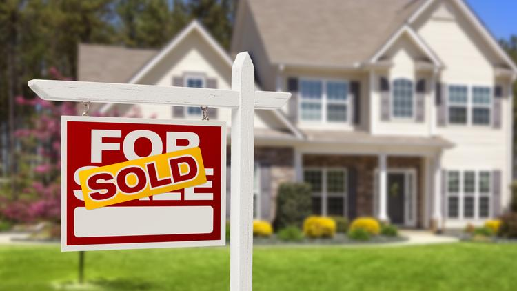 Home prices were up 12 percent in January over last year, though inventory remained low.
