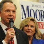 Roy Moore addresses opposition to same-sex marriage, Wallace comparisons