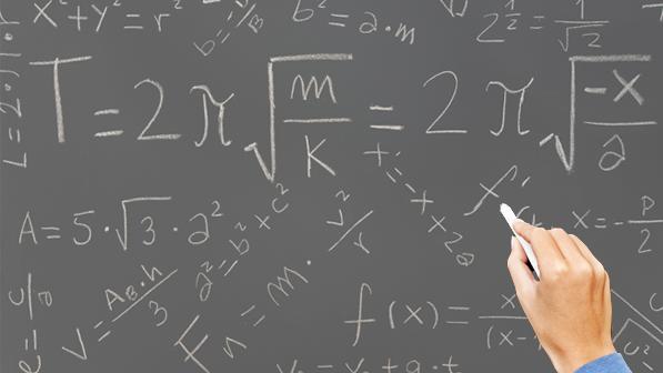 Math chalkboard science jobs blackboard