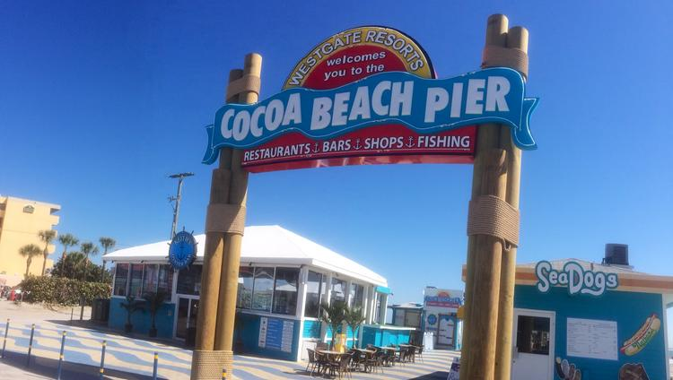 New Signage And A Look For Westgate Resorts Cocoa Beach Pier