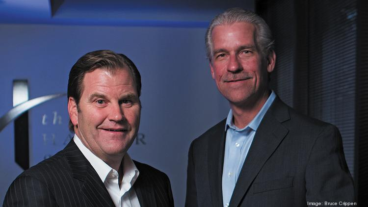 Mark Hauser, left, and Paul Swanson head up Hauser Private Equity.