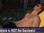 Move your biz to Phoenix and work in your swimsuit?
