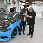 Check out the ride AC/DC's lead singer just bought from Petty's Garage
