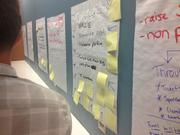 Planning and organizing at Startup Weekend Tampa Bay