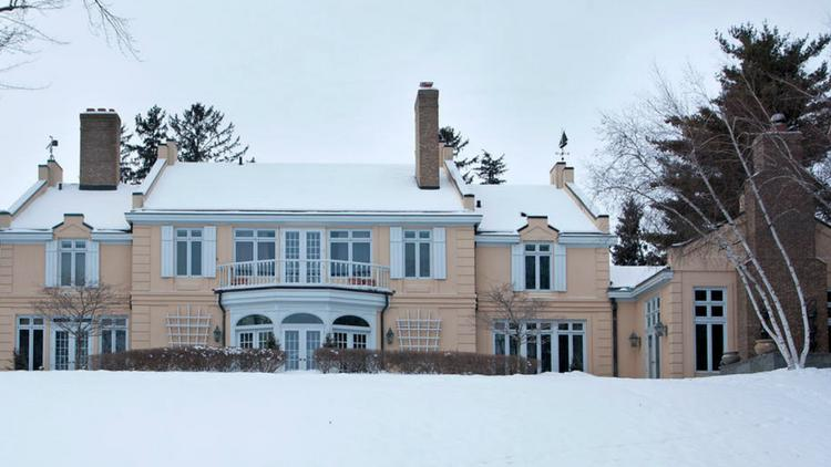 this six bedroom wayzata home built by two survivors of the  titanic sinking was: american colonial homes brandon inge