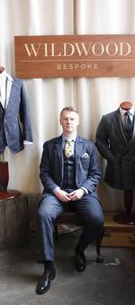 Bespoke suit tailor sets up shop in downtown Portland