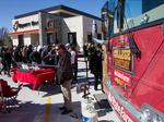 Photos: ESPN GameDay bus in Wichita