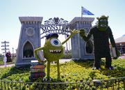 Monsters Inc. goes back to school in the Monster University display.