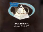 #21: Axiom EPMGrowth: 206.63%Local senior executive: Michael Choi, CEO