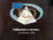 #8: Billiards.com Inc.Growth: 480.93%Local senior executive: Lou Doctor, CEO