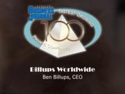 #23: Billups WorldwideGrowth: 192.89%Local senior executive: Ben Billups, CEO